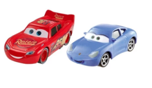 CARS 3 2-PACK AUTKA ZYGZAK SALLY - DXW05