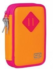 COOLPACK PIÓRNIK DWUKOMOROWY JUMPER NEON ORANGE - 54850CP
