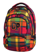 COOLPACK PLECAK SZKOLNY COLLEGE SUNSET CHECK - 76777CP