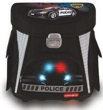 COOLPACK  TORNISTER KASETONOWY  FOR KIDS POLICE - 56052CP