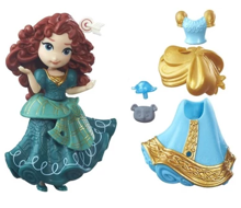 DISNEY PRINCESS MINI MERIDA W SUKIENCE - B7159