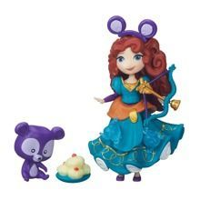 HASBRO - DISNEY PRINCESS MINI LALECZKA Z AKCESORIAMI - MINI MERIDA - B5332