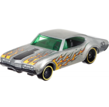 HOT WHEELS 50 ROCZNICA ZAMAC '68 OLDS 442 - FRN28