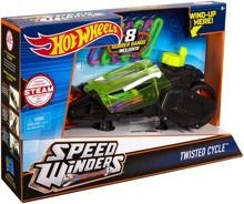 HOT WHEELS - AUTONAKRĘCIAKI MOTOCYKLE: TWISTED CYCLE GREEN - DPB67