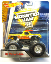 HOT WHEELS MONSTER JAM SUPERTERENÓWKA EL TORO LOCO - DRR85