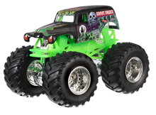HOT WHEELS MONSTER JAM SUPERTERENÓWKA GRAVE DIGGER - DRR57
