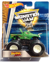 HOT WHEELS MONSTER JAM SUPERTERENÓWKA JURASSIC ATTACK - DWN03