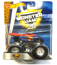 HOT WHEELS MONSTER JAM SUPERTERENÓWKA SUPERMAN - DRG76