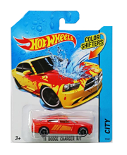 HOT WHEELS ZMIENIAJĄCY KOLOR '11 DODGE CHARGER R/T - BHR20