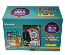 KARTY ROAD TO RUSSIA 2018 GIFT BOX 10 SASZETEK - 08458