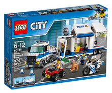 LEGO CITY POLICE MOBILNE CENTRUM - 60139