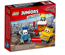LEGO JUNIORS CARS 3 PUNKT SERWISOWY GUIDO I LUIGIE - 10732