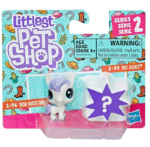 LITTLEST PET SHOP MINI ZWIERZĄTKA DWUPAK DASH HORSETON - E0950