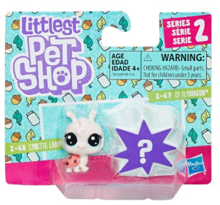 LITTLEST PET SHOP MINI ZWIERZĄTKA DWUPAK LYNETTE LADYFLY - E0948