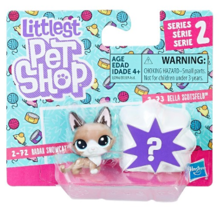 LITTLEST PET SHOP MINI ZWIERZĄTKA DWUPAK RADAR SNOWCAT - E0946