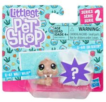 LITTLEST PET SHOP MINI ZWIERZĄTKA DWUPAK WALLY WALRO - E0947