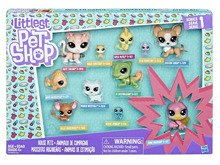 LITTLEST PET SHOP ZESTAW 11 FIGUREK - SERIA 1 - C1674