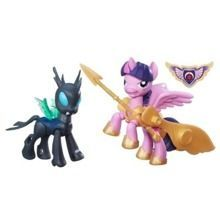 MY LITTLE PONY GUARDIANS OF HARMONY POGROMCY KRÓLOWA CHRYSALIS I SMOK SPIKE B7297