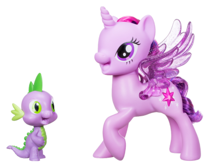 MY LITTLE PONY TWILIGHT SPARKLE I SPIKE SMOK - C0718