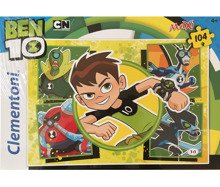 PUZZLE 104 EL. MAXI BEN 10 SUPER COLOR - 23717