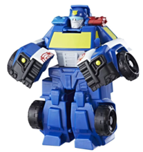 TRANSFORMERS RESCUE BOT POLICJA:CHASE THE POLICE-BOT - C3341