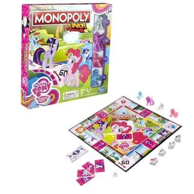 GRA MONOPOLY JUNIOR MY LITTLE PONY - B8417