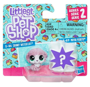 LITTLEST PET SHOP MINI ZWIERZĄTKA DWUPAK CHUNKY WATERFLUFF - E0945