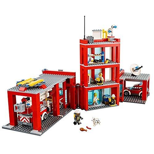 Lego Lego City Fire Remiza Strażacka Klocki 60110 Niska Cena