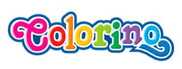 Colorino, artykuły szkolne, logo